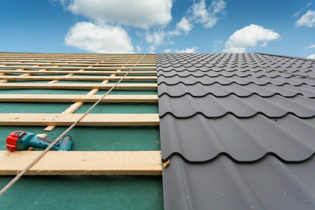 Re-Roofing (Retrofitting) Metal Roofs-Metro Metal Roofing Company of Miramar