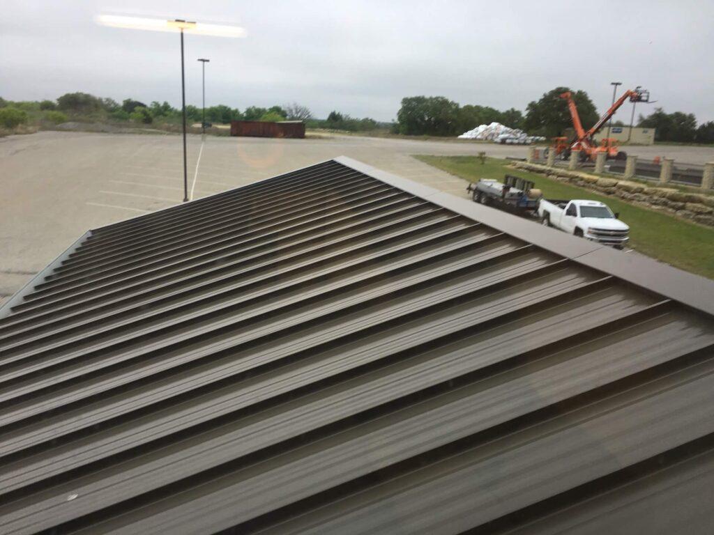 Tapered Panels Metal Roof-Metro Metal Roofing Company of Miramar